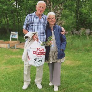 Kent Ramberg med sin hustru Birgitta